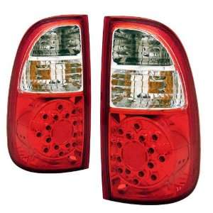 Toyota Tundra KS LED Red/Clear Tail Lights STB Ded Cab Automotive