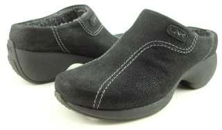 80 ANNE KLEIN KERRY Black Womens Shoes Clogs 6.5