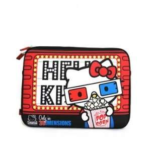 Laptop Case   Sanrio   Hello Kitty Cat Red 3D 13 Bag