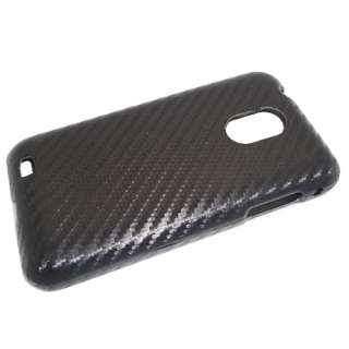 4G Touch D710 Carbon Fiber Fabric Protector Hard Case Cover