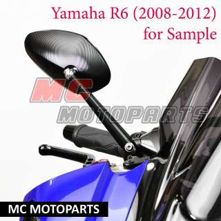 Billet Limit Sport Mirrors YAMAHA YZF R6 06 2010 07 08 09 10 11