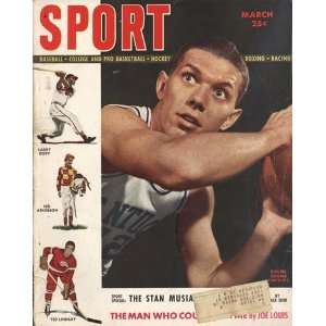 Sport Magazine with Ralph Beard on the Cover   March 1949