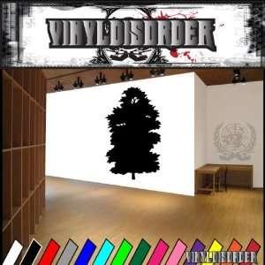 Trees Cedar Tree NS001 Vinyl Decal Wall Art Sticker Mural