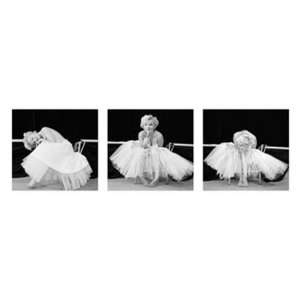 Marilyn Monroe Ballet Dance Celebrity Pin up Poster 13 x 37.5 inches