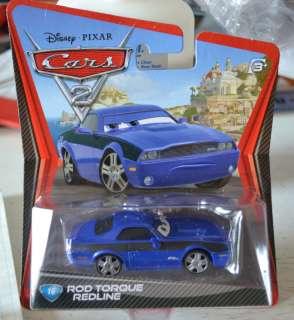 DISNEY PIXAR CARS 2 ROD TORQUE REDLINE # 16 NEW NEW