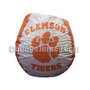 Clemson Tigers Bean Bag Chair Memorabilia.