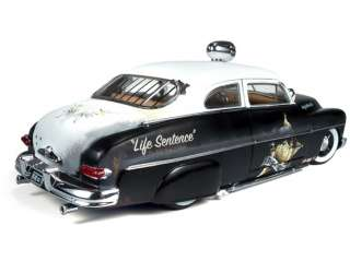 ERTL AMERICA MUSCLE 118 1949 MERCURY COUPE RAT ROD POLICE 1 OF 700