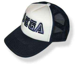 SEGA Logo Embroidered Cap Sonic Hedgehog Genesis Hat
