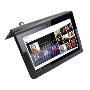 Sony S1 Tablet Leather Case Cover Stand Accessory (Black
