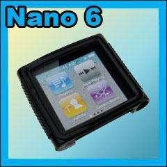 Soft TPU Skin Gel Case Bumper for iPod Nano 6th 6G K