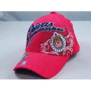 CHIVAS de GUADALAJARA OFFICIAL TEAM LOGO CAP / HAT   CV007