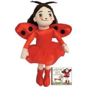 David Soman 10 Ladybug Girl Doll Plush Doll Toy Toys