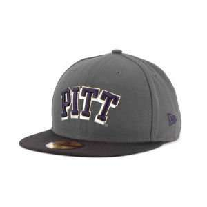 Panthers New Era 59FIFTY NCAA 2 Tone Graphite and Team Color Hat