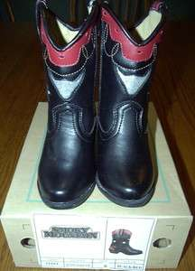 Smoky Mountain Child Austin Lights Western Boots Toddler Size 6