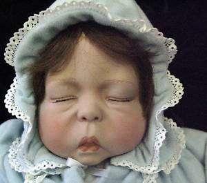 1987 Signed Lee Middleton Cherish Sleeping Baby Doll