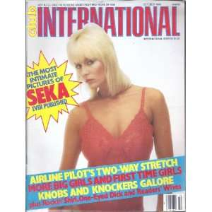 CLUB INTERNATIONAL (OCTOBER 1984 SEKA): CLUB MAGAZINE: Books