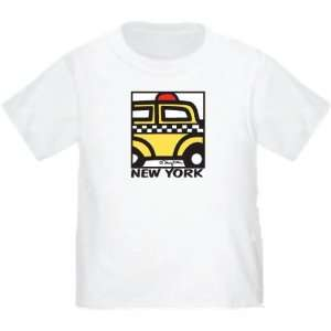 New York City Taxi Cab T Shirt 100% Cotton NY Tee Shirt Available in