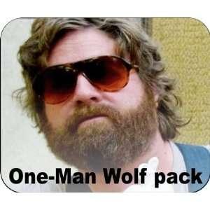Zach GalifianakisAlan One Man Wolf Pack Mouse Pad