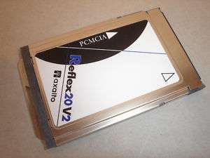REFLEX 20 V2 PCMCIA SMART CARD READER AXALTO