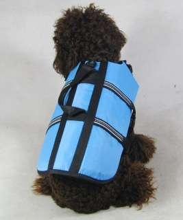 Dog clothes Small Dog Saver Life Jacket Dog Life Vest Pet clothing