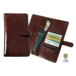 LIME Deluxe Travel Wallet with Snap Closure   Lime: Sports & Outdoors