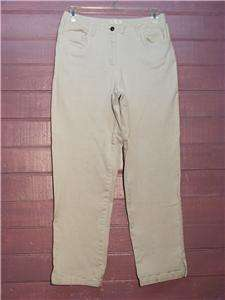 CHRISTOPHER & BANKS White Denim Stretch Jeans, Sz 12