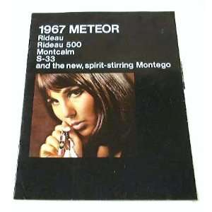 METEOR BROCHURE Rideau 500 Montcalm Montego S33 Everything Else
