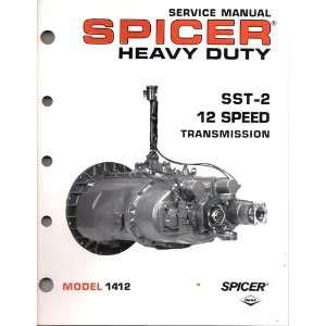 Service Manual Spicer Heavy Duty SSt 2 12 Speed