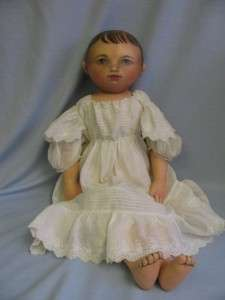 Antique Inspired circa 1989 by Famous Cloth Doll Artist SUSAN FOSNOT