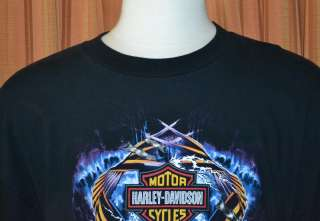 EL PASO TEXAS HARLEY DAVIDSON BLACK HD T SHIRT MENS 2X