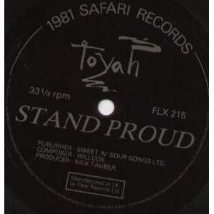 STAND PROUD 7 INCH (7 VINYL 45) UK FLEXI TOYAH Music