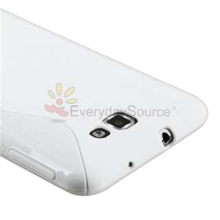 Line Soft TPU Gel Case Cover for AT&T Samsung Galaxy Note LTE SGH i717