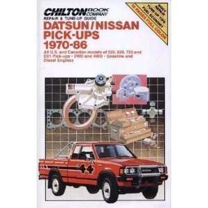 Pick Ups / 2 WD and 4 WD / Gasoline and Diesel Engines (Chilton Book