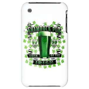 iPhone 3G Hard Case Shamrock Pub Luck of the Irish 1759 St