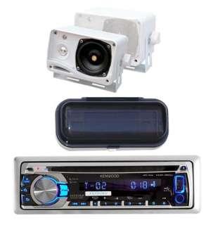 New KMR350U Marine CD AM/FM USB iPod iPhone Pandora Stereo 2 Box