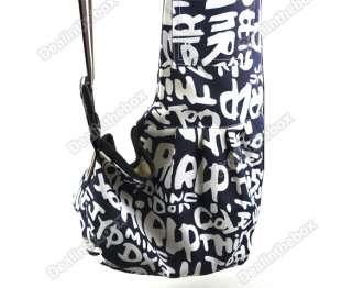 Strip Sling Pet Dog Tote Single Shoulder Durable Bag Carriers