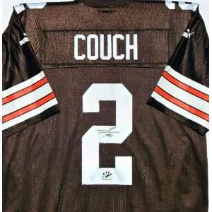 TIM COUCH Autographed Cleveland Browns Jersey w/COA