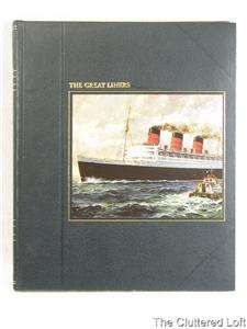 THE GREAT LINERS Melvin Maddox Time Life Seafarers 1978