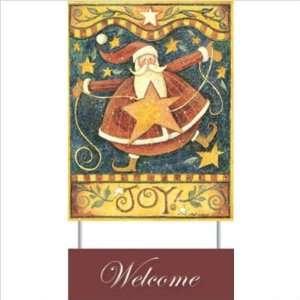 Standard Edwardian Script ITC  Joy Welcome Sign   Beth Yarbrough
