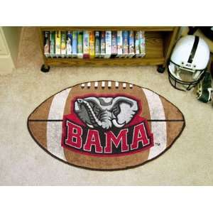 NCAA Alabama Crimson Tide College Football Mat 22 X 35