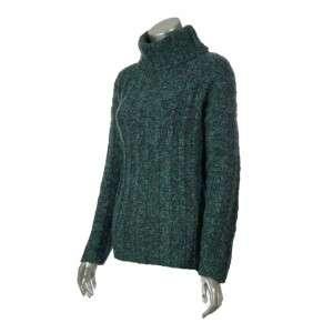 Studio Womens Wool Blend Cowl Neck Winter Oversized Sweater