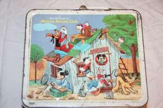 Vintage Disney Mickey Mouse Club Lunchbox