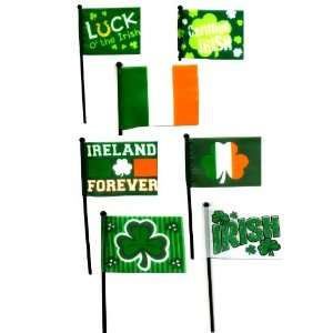 Irish Flags, Package of 3, 4x6, St. Patricks Day