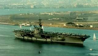 USS RANGER CV CVA 61 US NAVY HAT PIN CARRIER VIETNAM