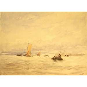 Hand Made Oil Reproduction   David Cox   32 x 24 inches