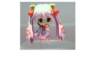 Japan Anime Sakura Miku Hatsune Vocaloid action Cute Figure Mini