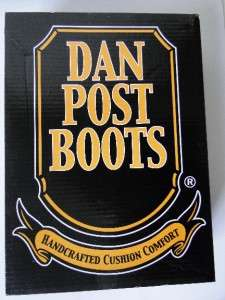 Dan Post Boots Mens Black Cowboy Boots Sz 10 D DP2110 R   J Toe 13