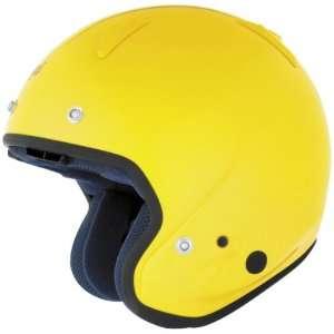 Arai Classic/c Hot Rod Yellow Helmet   Size  Large