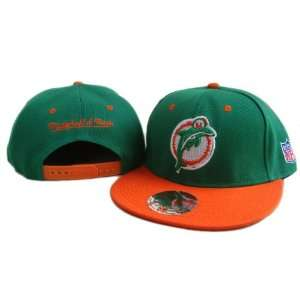 NFL Miami Dolphins Mitchell Ness Snapback Hat