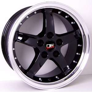 (4) DEEP DISH CHROME FORD MUSTANG 18 INCH COBRA R WHEELS RIMS